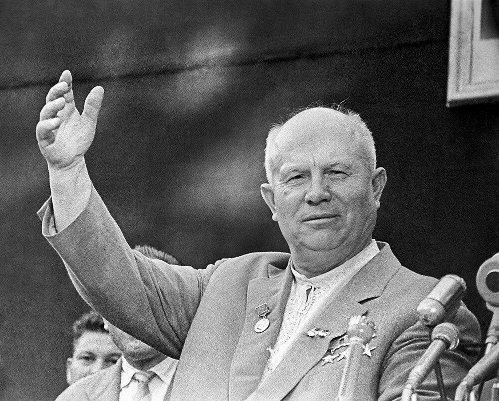 Н.С. Хрущёв - творец целинной эпопеи