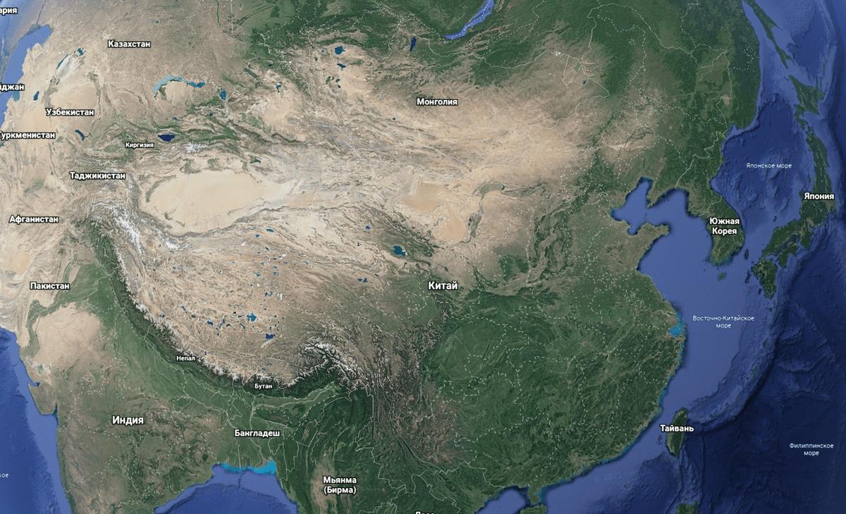 китайцам хватало земли и проблем внутри своего огромного мира