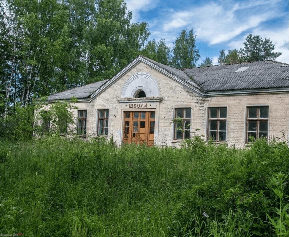 деревни на руси