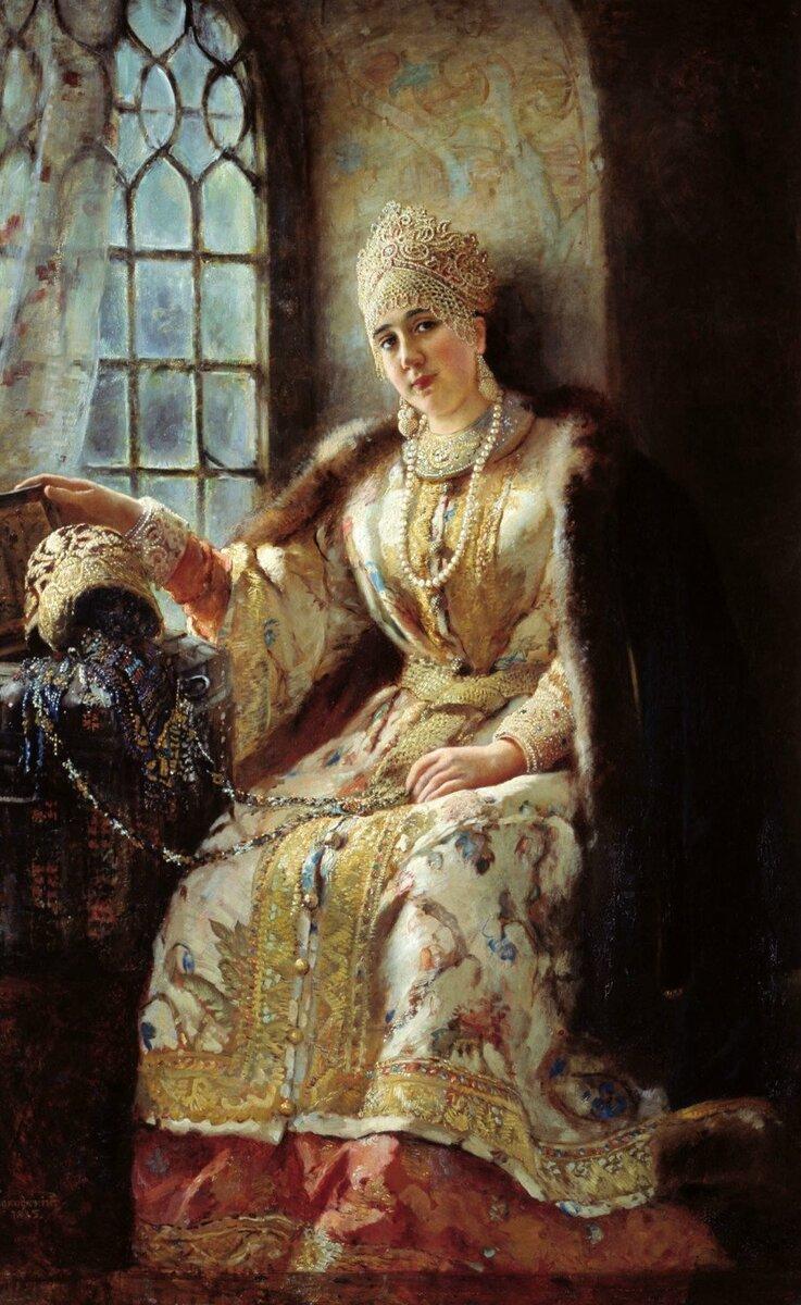 Анастасия Петровна Яковлева (якобы Романовна)