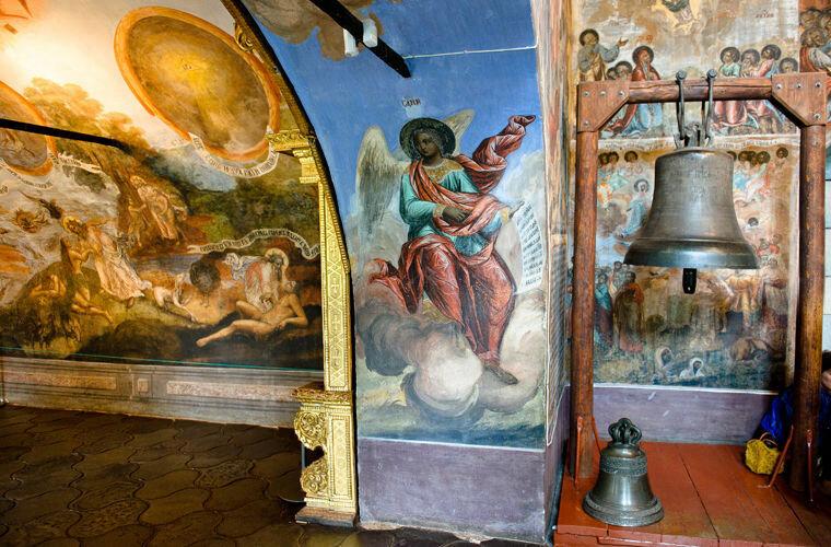 Ссыльный колокол в церкви Димитрия-на-Крови